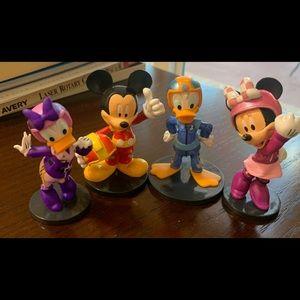 Disney race car team from the Disney store.